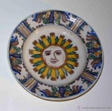 Antigüedades: PLATO RIBESALBES - MANISES. SIGLO XIX. Lote 45658752