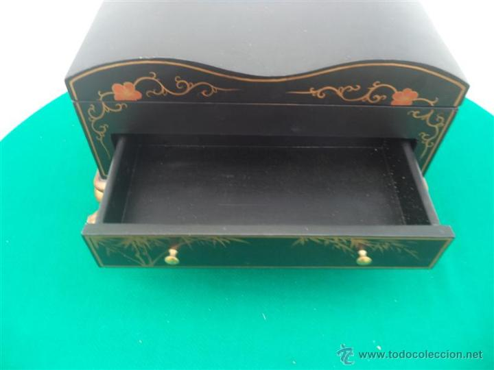 Antigüedades: pequeño mueble guarda joya - Foto 3 - 46384539