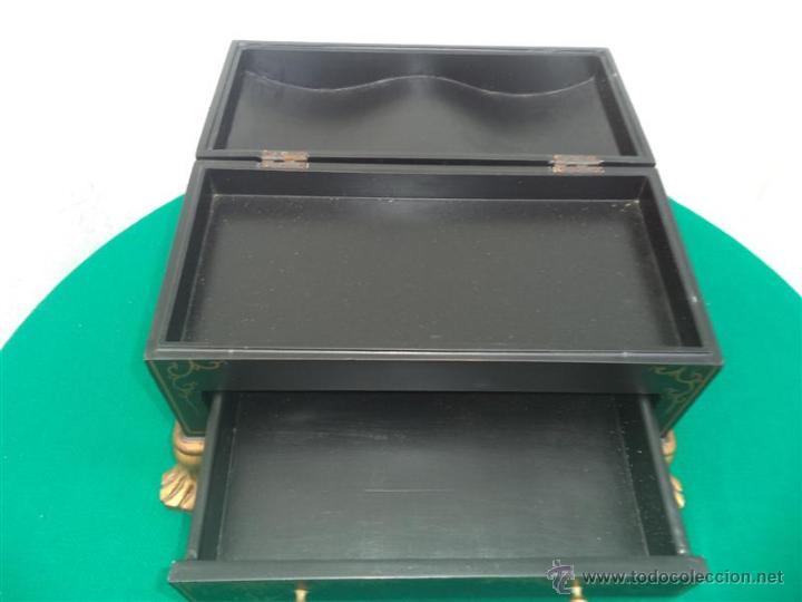 Antigüedades: pequeño mueble guarda joya - Foto 4 - 46384539