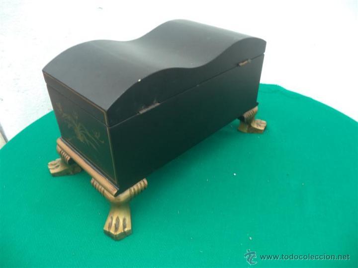 Antigüedades: pequeño mueble guarda joya - Foto 5 - 46384539