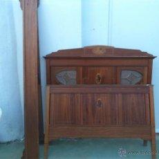 Antigüedades: CAMA ARTENOVA DE 120CM. Lote 46610076