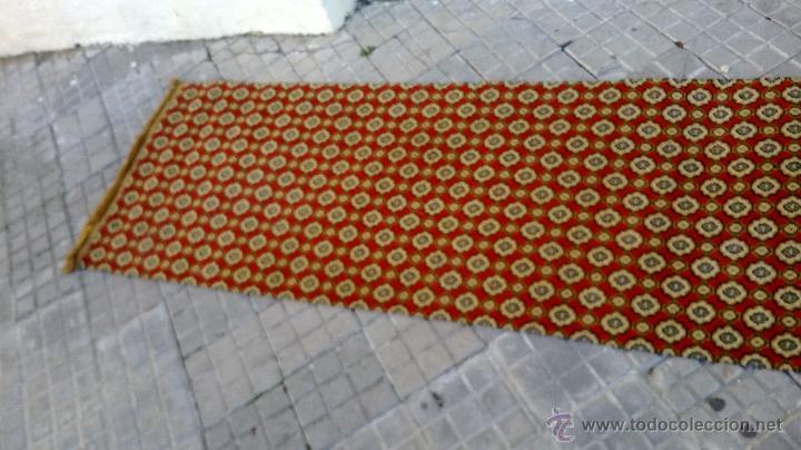Antigüedades: alfombra de pasillo - Foto 2 - 46614695