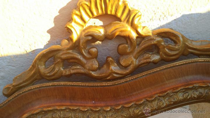 Antigüedades: antiguo espejo, estilo isabelino - Foto 4 - 46631238