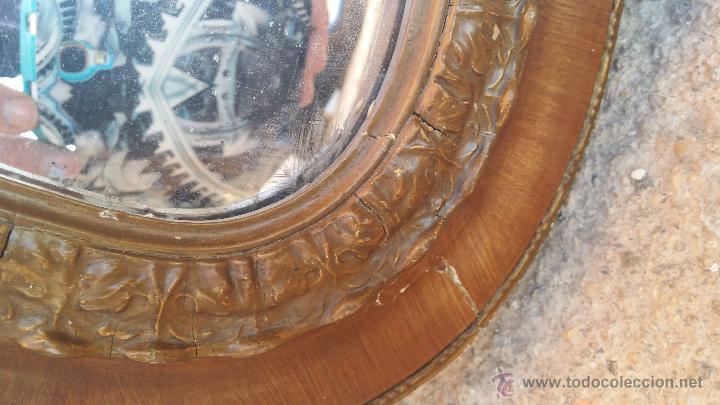 Antigüedades: antiguo espejo, estilo isabelino - Foto 6 - 46631238