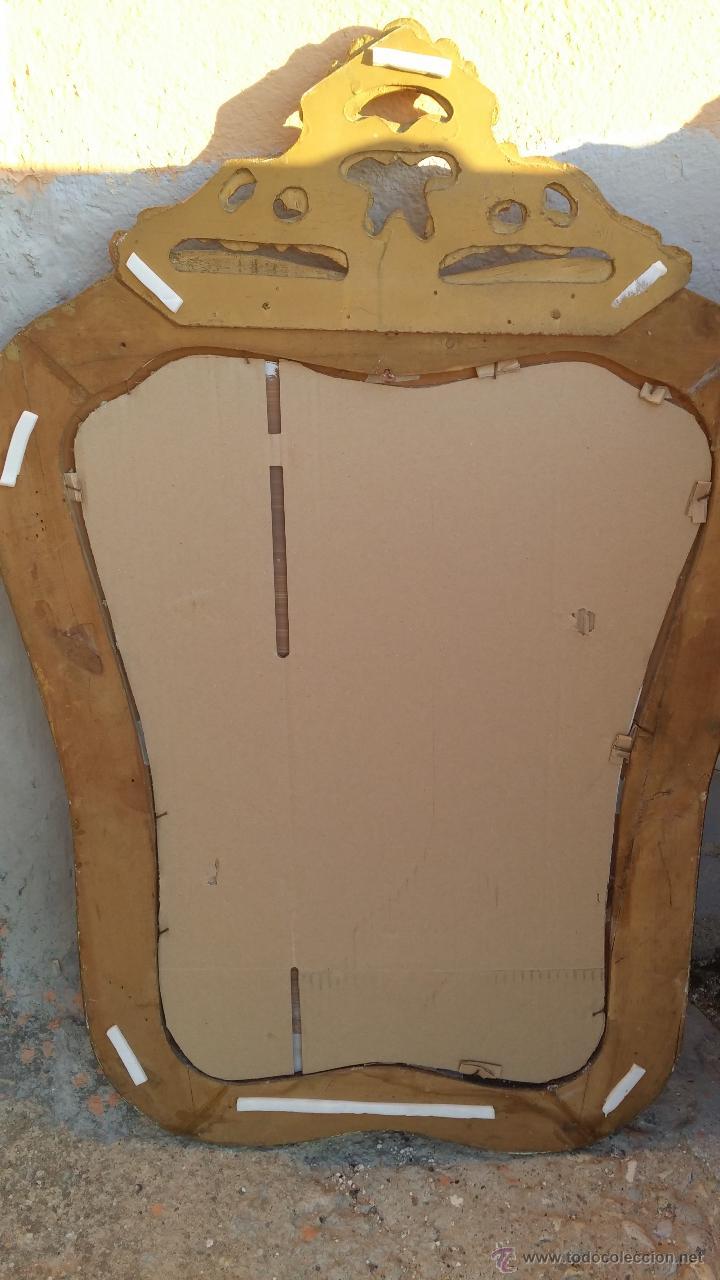 Antigüedades: antiguo espejo, estilo isabelino - Foto 7 - 46631238