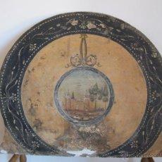 Antigüedades: PRECIOSO CABECERO DE CUNA DEL S. XIX. Lote 46633720