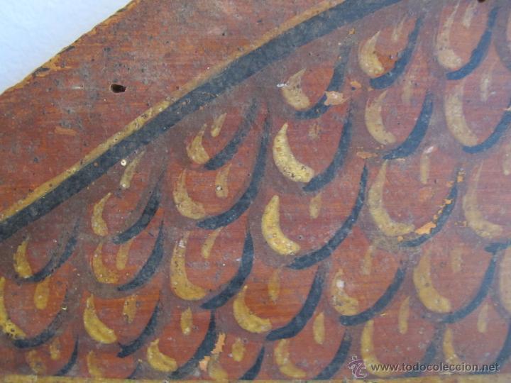 Antigüedades: Original cabecera de cuna del s. XIX - Foto 2 - 46633907