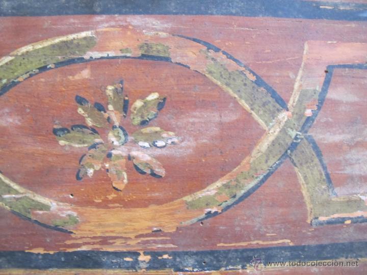 Antigüedades: Original cabecera de cuna del s. XIX - Foto 3 - 46633907