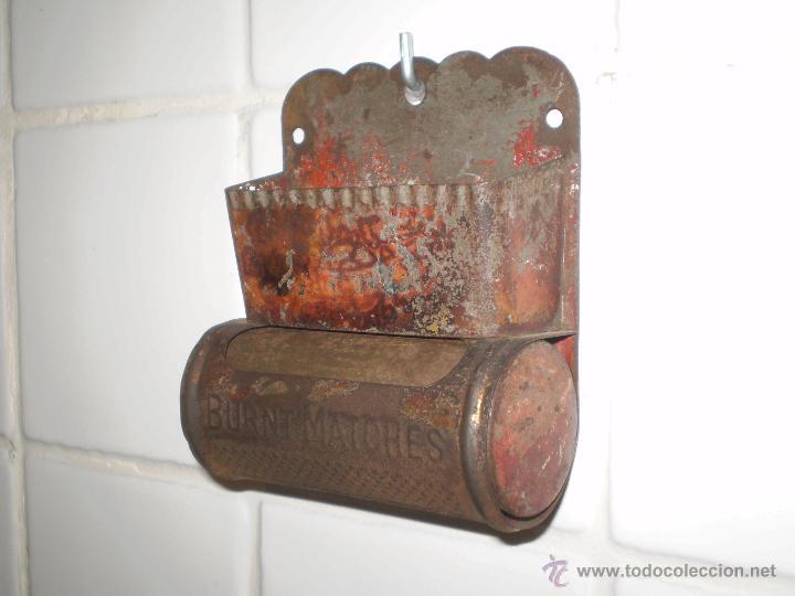 antiguo cerillero o porta cerillas de cocina.ho - Comprar Utensilios ...