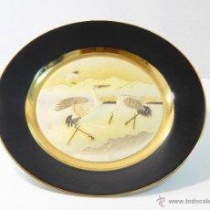 Antigüedades: PORCELANA THE ART OF CHOKIN PLATO DE 30 CMS DE DIAMETRO GRABADO Y NUMERADO. Lote 46642370