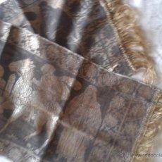 Antiques - ANTIGUO TAPIZ GUERREROS MADE IN ITALY SEDA AÑOS 30 - 46642379