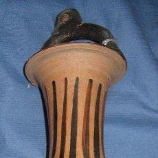 Antigüedades: ARQUEOLOGÍA : ÁNFORA GRIEGA DE FIGURAS ROJAS (CAMPANIA, SIGLO IV A. DE C.). Lote 27466412