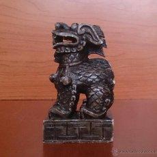 Antigüedades: BELLO Y ANTIGUO SELLO CHINO EN PIEDRA NATURAL TALLADA A MANO .. Lote 46648515