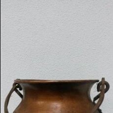 Antigüedades: CALDERO DE COBRE ANTIGUO.. Lote 46661703