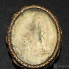 Antigüedades: ANTIGUO RELICARIO DE METAL. Lote 46663911