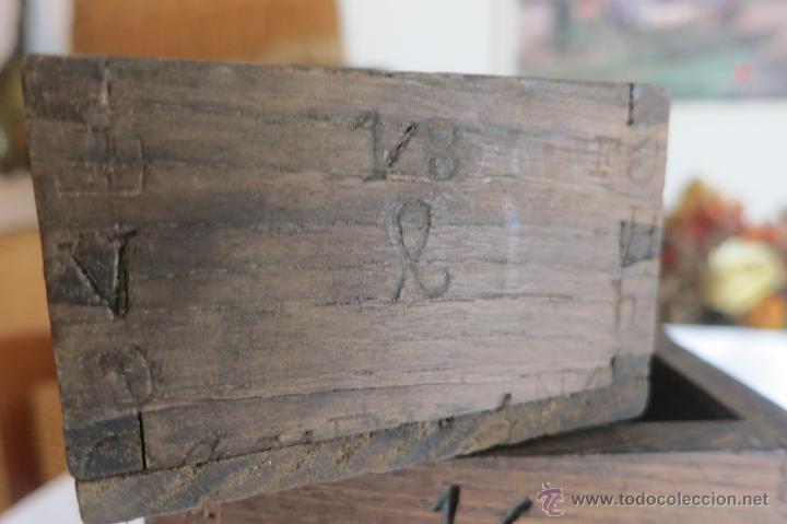 Antigüedades: Medidas antiguas Portugesas de 1/8 a dos litros - Foto 9 - 46671818