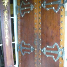 Antiques - MAGNIFICA PUERTA DE CAOBA SIGLO XIX - 46703184