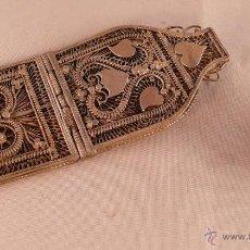 Antigüedades: HEBILLA PLATA. Lote 46718972