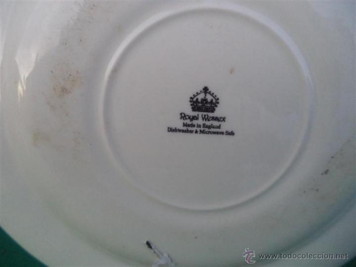 Antigüedades: plato ingles - Foto 2 - 46721116