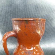 Antigüedades: ANTIGUA JARRITA. USO DEL VINO. Lote 46752760