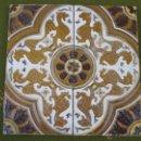 Antigüedades: LOTE DE DOS AZULEJOS ANTIGUOS DE SEVILLA / TRIANA. AZULEJO.. Lote 46757416