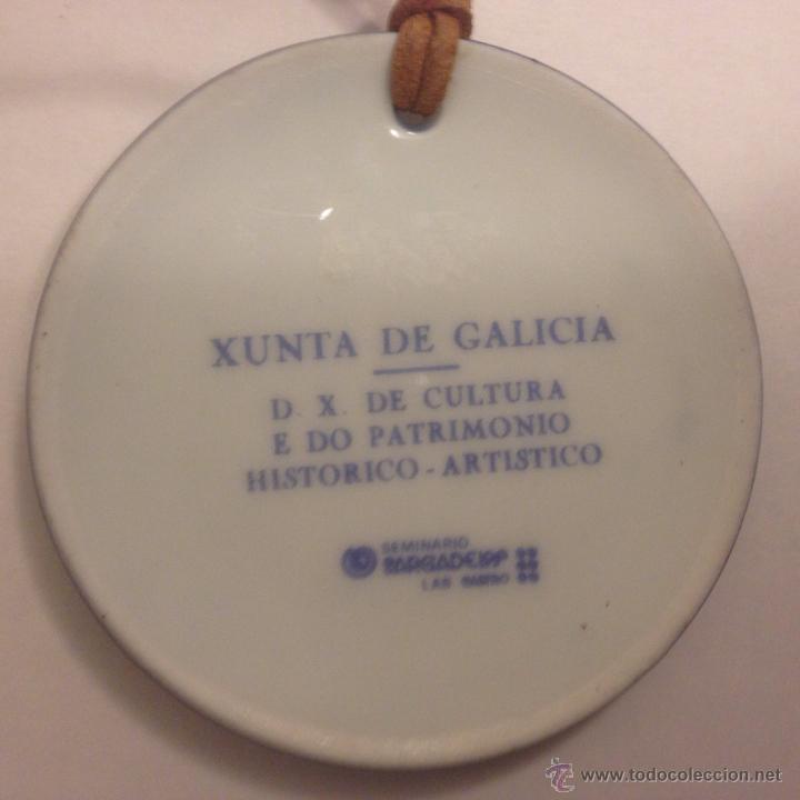 Antigüedades: Medalla de Sargadelos. Os Camiños e a Arte. 1986 Descatalogada - Foto 2 - 46766974