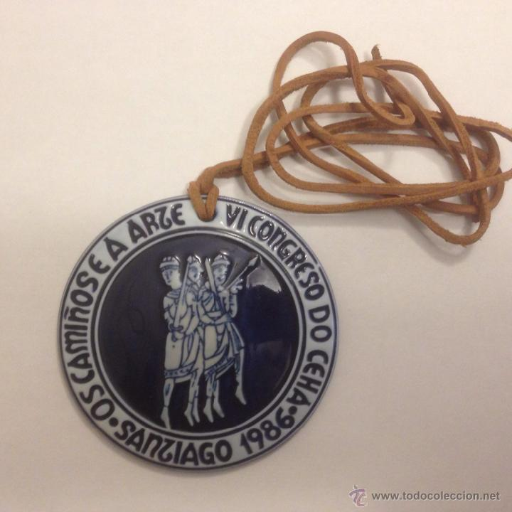 Antigüedades: Medalla de Sargadelos. Os Camiños e a Arte. 1986 Descatalogada - Foto 3 - 46766974