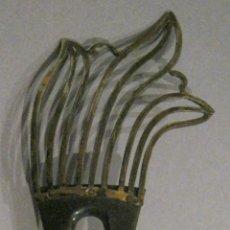 Antigüedades: ANTIGUA PEINETA ART DECO PPIO. S. XX. Lote 46777590