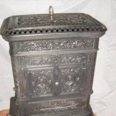 Antigüedades: ESTUFA DE DIETRICH & C. NIEDERBRONN PROCEDE DE ALSACIA, AÑO 1900. Lote 46778414