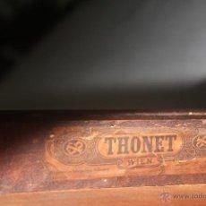 Antigüedades: THONET AUTENTICA Y RARO MODELO SILLA THONET.HECHA EN AUSTRIA.. Lote 46789986