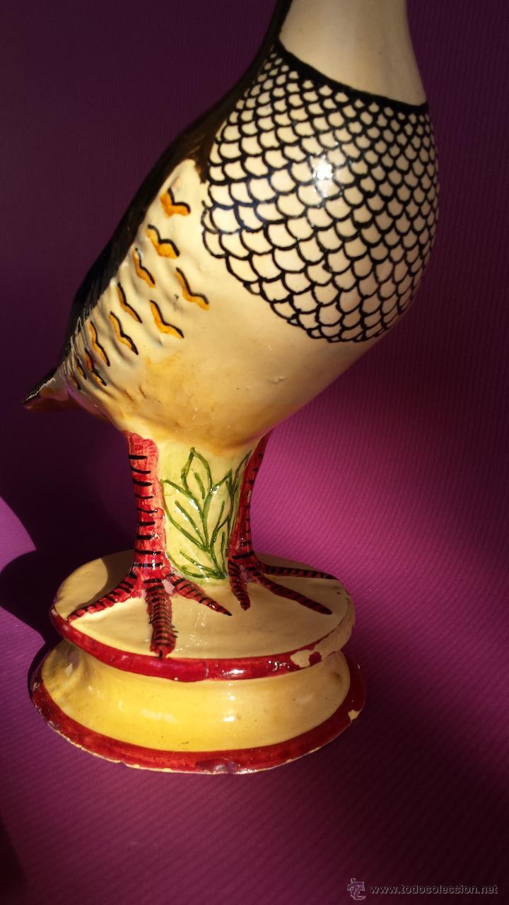 Antigüedades: ANTIGUA PERDIZ DE ALCORA.SALSERA. MARCAS EN LA BASE. - Foto 5 - 46799345