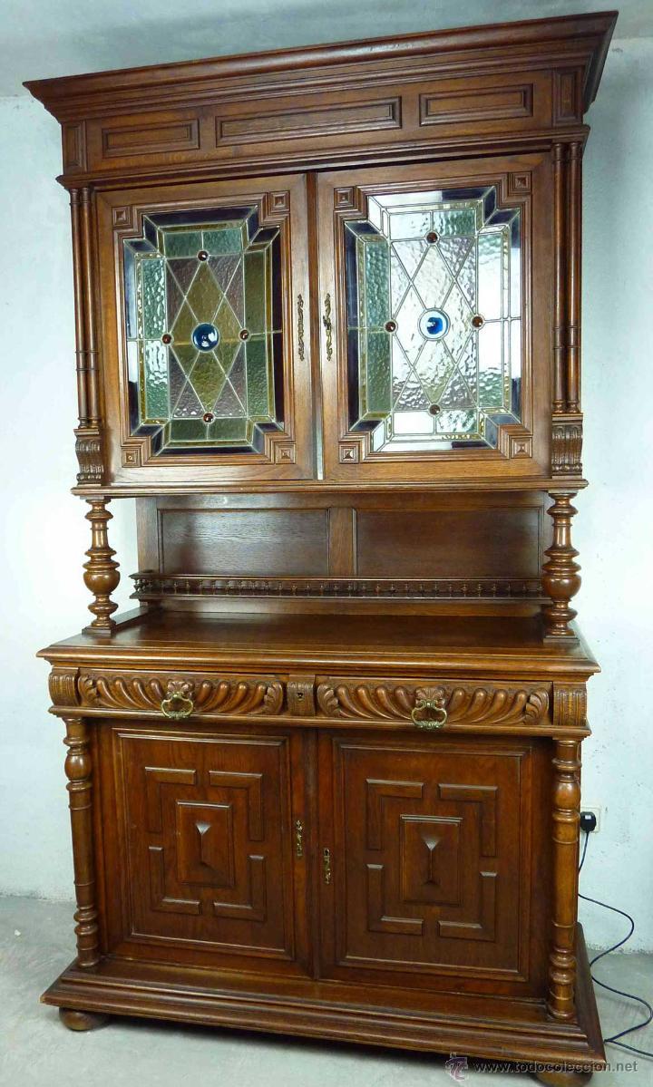Explendido mueble aparador o alacena de madera comprar - Muebles siglo xxi ...