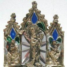 Antigüedades: CAMPANA RELIGIOSA ALTA PORTAPAZR VIRGEN MONTE TORO MENORCA. Lote 46915126