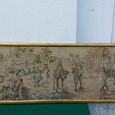 Antigüedades: CUADRO TAPIZ. Lote 46924564