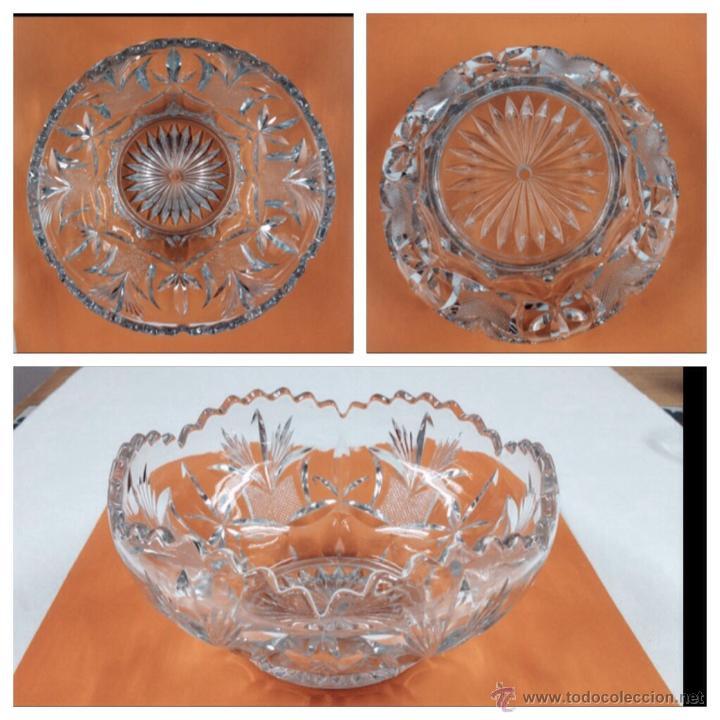 CENTRO VIDRIO PRENSADO (Antigüedades - Cristal y Vidrio - Otros)