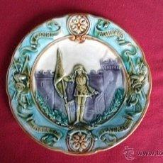 Antigüedades: ANTIGUO PLATO PORCELANA FRANCESA. Lote 46950404