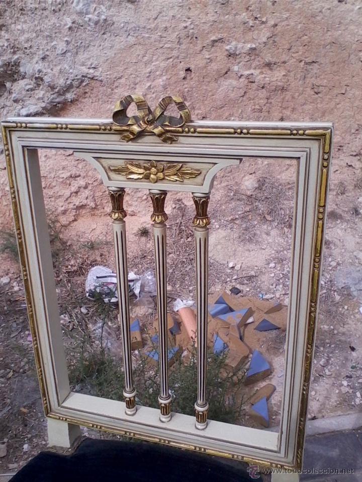 Antigüedades: Conjunto de mesa y dos sillas - Foto 4 - 46956010