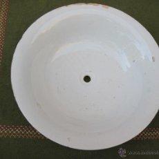 Antigüedades: PALANGANA ANTIGUA EN PORCELANA.. Lote 73652299