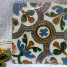 Antigüedades: ANTIGUO AZULEJO DE ÉPOCA PARA COLECCIÓN.. Lote 46964919