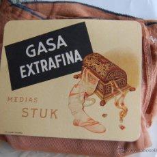 Antiquités: MEDIAS STUK DE GASA EXTRAFINA // AÑOS 40 NUEVAS. Lote 209315865