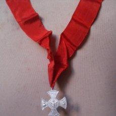 Antigüedades: ANTIGUA MEDALLA DE COFRADÍA RELIGIOSA.. Lote 47014163