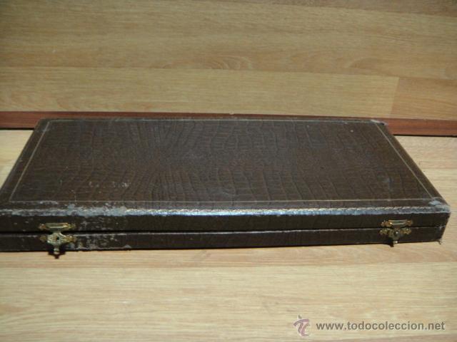 Antigüedades: cubiertos con mango de plata contrastada - Foto 6 - 47021895