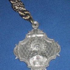Antigüedades: SEMANA SANTA DE SEVILLA - MEDALLA DE LA HERMANDAD DE LA SOLEDAD DE SAN BUENAVENTURA - AÑO 1935.. Lote 47025003