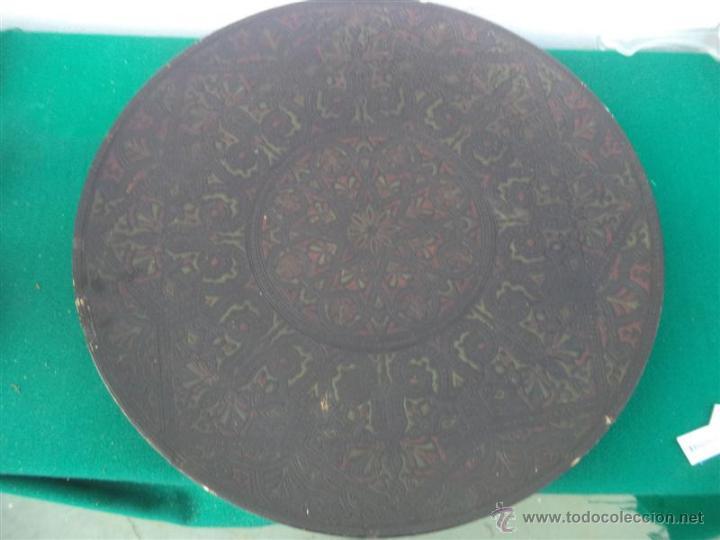 Antigüedades: plato grande de ceramica - Foto 2 - 47026719