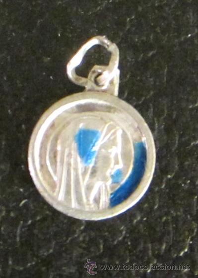 MEDALLA VIRGEN DE FÁTIMA. DIÁMETRO 1,1 CM (Antigüedades - Religiosas - Medallas Antiguas)