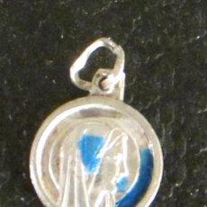 Antigüedades: MEDALLA VIRGEN DE FÁTIMA. DIÁMETRO 1,1 CM. Lote 47042734