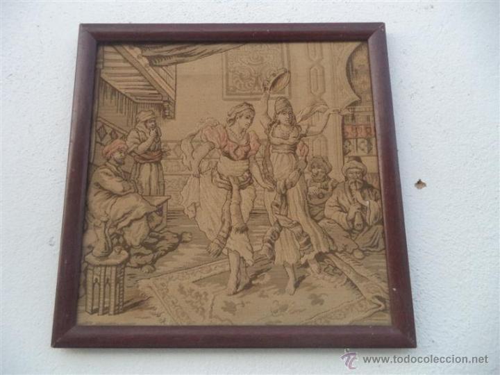 PEQUEÑO TAPIZ (Antigüedades - Hogar y Decoración - Tapices Antiguos)