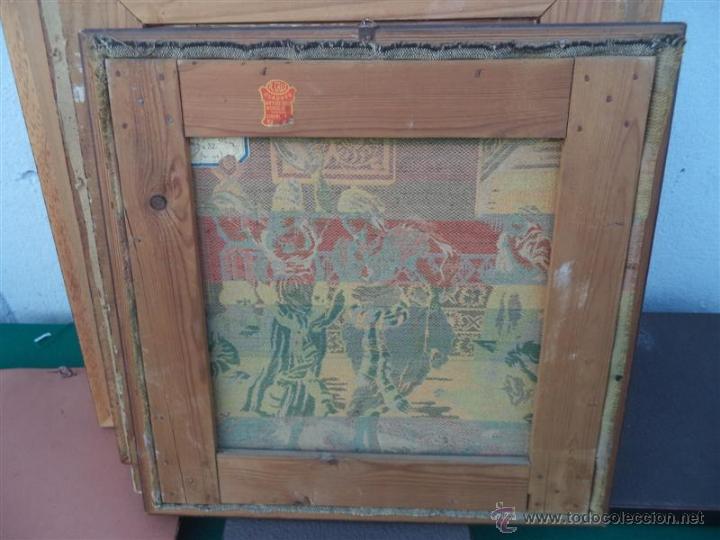Antigüedades: pequeño tapiz - Foto 2 - 47044968