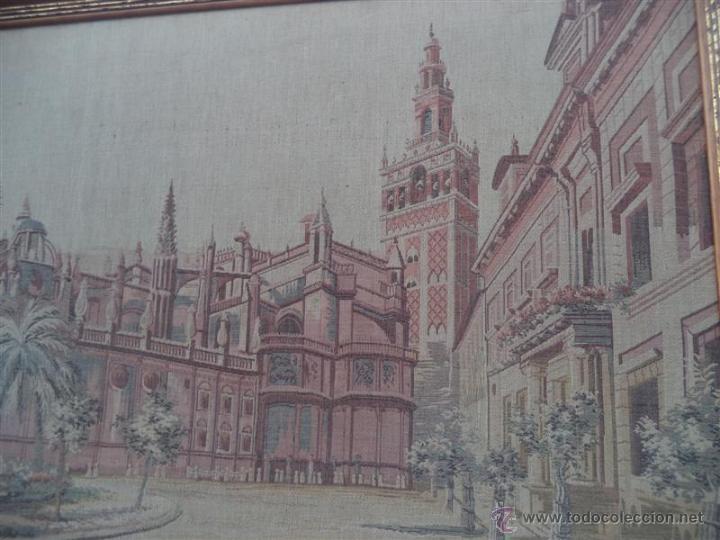 Antigüedades: tapiza ntiguo sevilla - Foto 2 - 47044980