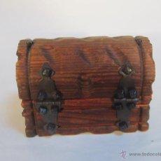 Antigüedades: CAJA JOYERO DE MADERA. Lote 47045399